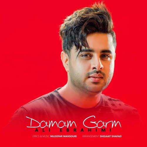 دانلود آهنگ جدید علی ابراهیمی به نام دمم گرم